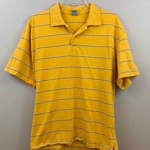Old Navy yellow striped shirt